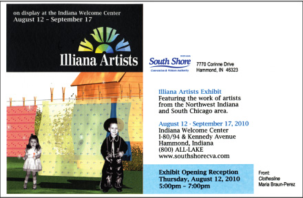 Illiana Artists Promotional Postcard by the South Shore Convention and Visitors Authority.