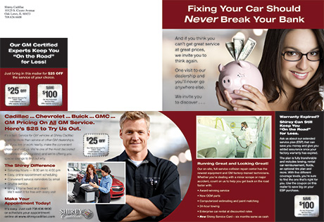 shirey cadillac new gm customer service brochure. Cars Review. Best American Auto & Cars Review